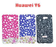 """Чехол силікон """"ЕТНО """" Huawei Y6 II/CAM-L32 світиться"""