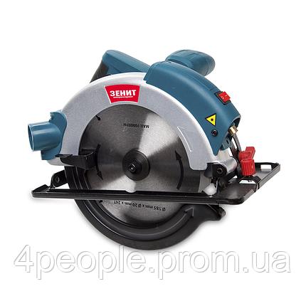 Пила дисковая циркулярная Зенит  ЗПЦ-1600, фото 2