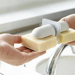 """Магнитная мыльница для ванной  """"Magnet"""" - настенная мыльница с необычным дизайном в минималистичном стиле"""