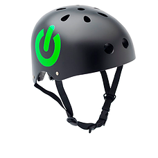Велосипедний шолом Trybike 47 53см чорний ON/OFF (COCO 8S), фото 2