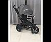 Детский трехколесный велосипед c поворотным сиденьем T 400 NEO ECO AIR серый