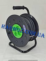 Удлинитель на катушке Svittex SV-021 Свитекс 2х2,5 50м 5кВт 4 розетки с защитой от КЗ