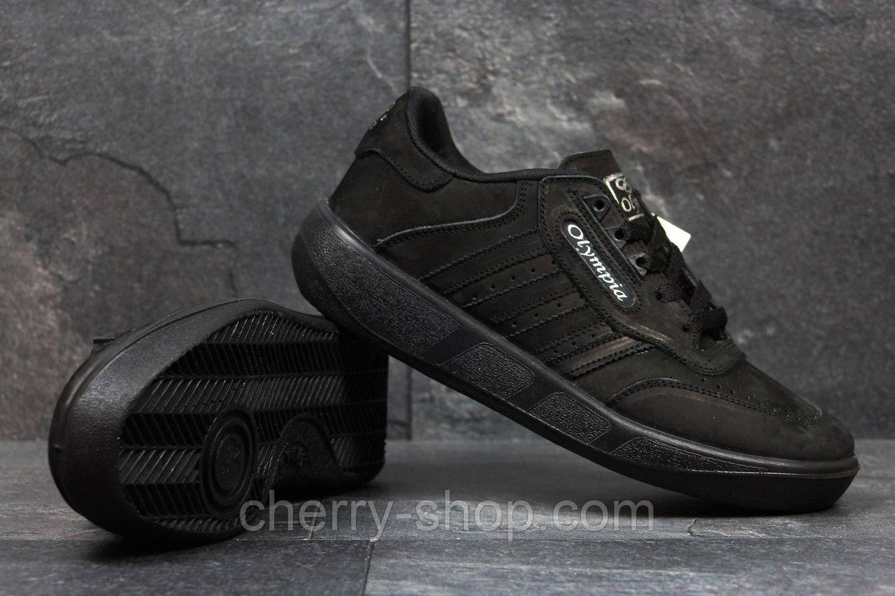 Мужские кроссовки Olympia лучшее качество / чоловічі кросівки шкіра.