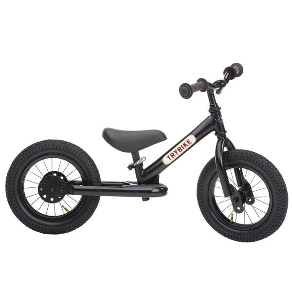 Беговел Trybike двухколесный Черный (TBS-2-BLK-ALL)