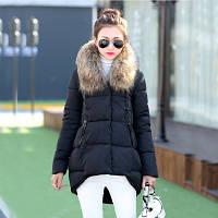 Стильная яркая куртка коттон с мехом  3 цвета , фото 1