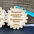 Односторонняя Медаль выпускника детского сада, фото 2
