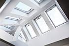 Мансардні вікна ПВХ Roto Designo WDF R45 K WD AL Мансардне вікно Дахові, фото 7