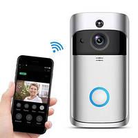 Беспроводной дверной видеозвонок Eken V5 Смарт Wi-Fi, Видеозвонок с датчиком движения, дверной звонок