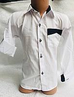 Рубашка на мальчика 6-9 лет