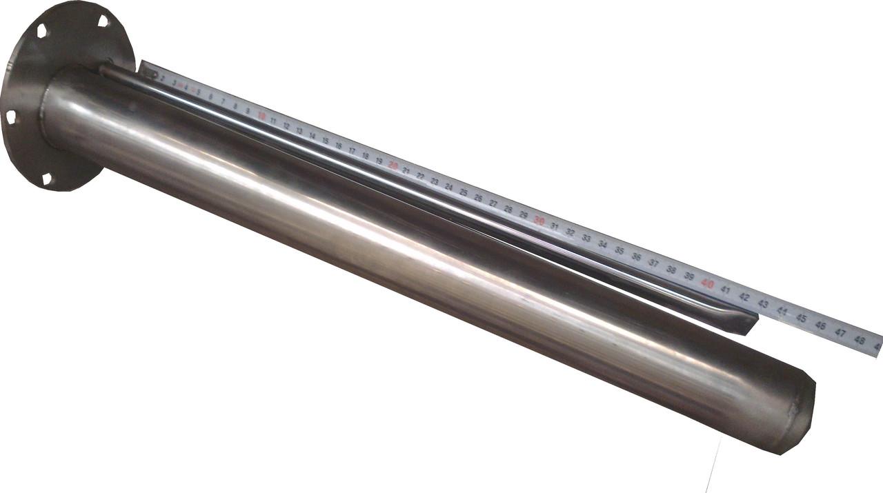 Фланец-колба под сухой керамический тен на бойлер АТЛАНТИК  объёмом более 100 л