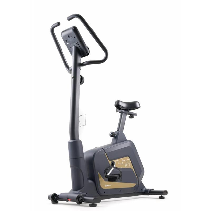 Велотренажер магнитный Hop-Sport HS-055H Blade золотистый красный для дома и спортзала