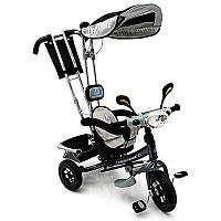 WS862AW-M дитячий сірий триколісний велосипед (світиться фара)