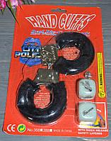 Черный набор для взрослых наручники и кубики