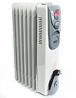 🔝 Електрообігрівач Luxel Oil-Filled Heater 7 Fins 1500W, конвектор електричний  | 🎁% 🚚