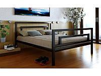 Кровать металлическая Брио 2/Brio 2 90х190 см. фирмы Метакам