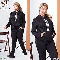 Стильный спортивный костюм весна-осень размеры 48-54 арт 6256