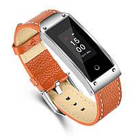 Смарт часы smart watch Y2 (оранжевые) с измерителем давления