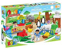 Конструктор JDLT 5091 Happy Zoo/Зоопарк