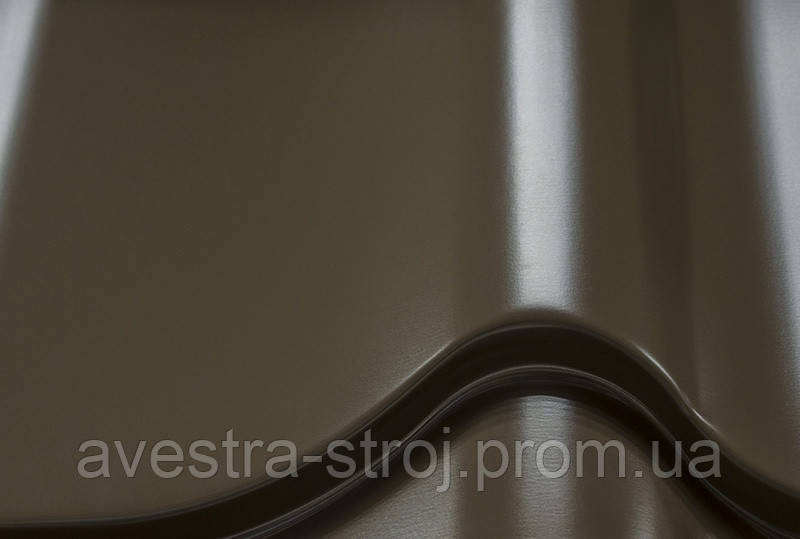 Новинка! Металлочерепица Классика 0,5ммм U.S.Steel 0,5 ZN275 Покрытие High build. Гарантия 45лет!