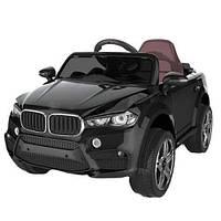 Детский электромобиль BMW FL 1538 (T-7830) EVA колеса, черный