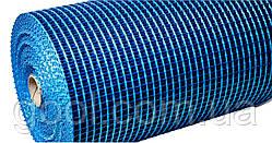 Панцирная цокольная антивандальная сетка Valmiera для фасадов плотность 340 гр/м2 ячейка 9х9 мм рулон 50 м2