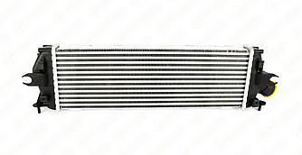 Радіатор інтеркулера на Renault Trafic II 2006->2014 2.0 dCi+2.5 dCi — Nissens - NIS96583