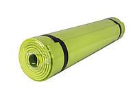 🔝 Коврик для фитнеса, каремат, Profi Fitness (173x60 см.), цвет - салатовый   🎁%🚚, фото 1