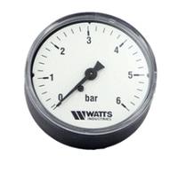 Манометр аксиальный Watts F+R100 (D-63mm 0-6Bar)