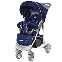 Коляска прогулочная BabyCare Swift BC-11201/1 Blue с дождевиком