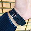 Часы мужские  Skmei. Мужские наручные часы черные. С черным циферблатом. Годинник чоловічий, фото 3