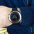 Часы мужские  Skmei. Мужские наручные часы черные. С черным циферблатом. Годинник чоловічий, фото 4
