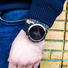 Часы мужские  Skmei. Мужские наручные часы черные. С черным циферблатом. Годинник чоловічий, фото 2