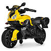 Детский мотоцикл BAMBI M 4080EL-6 желтый