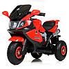 Детский трехколесный мотоцикл красный