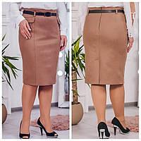 Ничего не делает фигуру более стройной, как юбка правильной формы, р.52,54 код 3218М