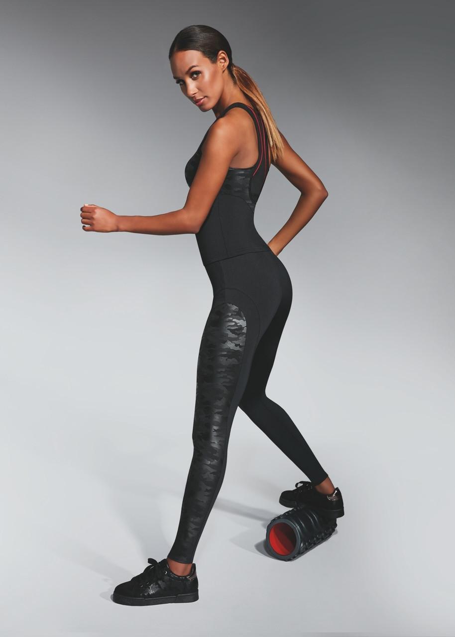 Спортивні жіночі легінси BasBlack Combat (original), лосини для бігу, фітнесу, спортзал