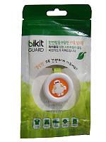 🔝 Средство от комаров для детей, Bikit Guard, клипса от комаров, цвет - салатовый (робот) | 🎁%🚚, фото 1