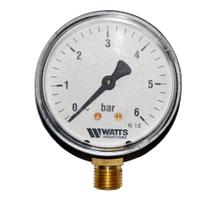 Манометр аксиальный Watts F+R200 (D-63mm 0-6Bar)