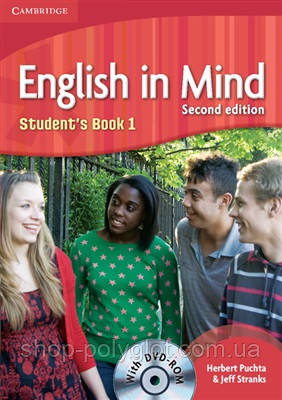 English in Mind Second Edition 1 Student's Book with DVD-ROM