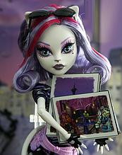 Кукла Monster High Катрин Де Мяу (Catrine DeMew) Путешествие в Скариж Монстер Хай Школа монстров