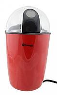 🔝 Роторная электрическая кофемолка Domotec MS-1306 100W 70gr электрокофемолка Красная с доставкой | 🎁%🚚