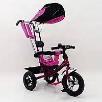 Дитячий триколісний велосипед Lex 007 AIR wheels Violet, фото 1