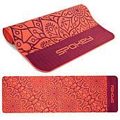 Килимок (килимок) для йоги та фітнесу Spokey Mandala 926051 (original), спортивний килимок, мат