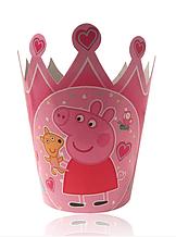 """Корона картонная детская """" Свинка Пеппа """""""