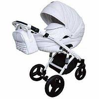 Детская универсальная коляска 2 в 1 Lumi 0205-D00, эко-кожа