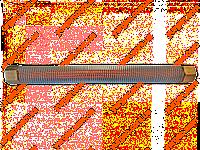 Запчасти Трубка для компрессора гофрированная (L-265 мм, 17,5 мм).