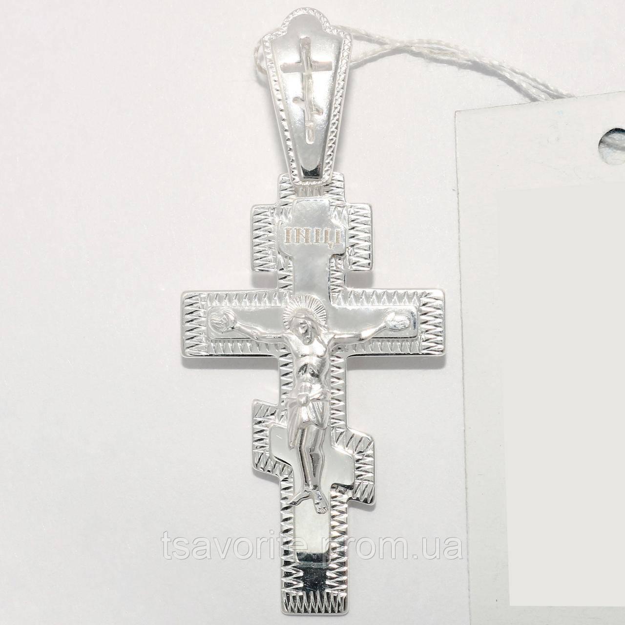 Серебряный крестик ВКХ-1
