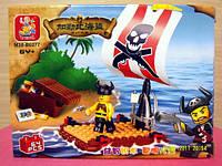 """Конструктор """"Пираты"""". 64 детали. М38-В0277  Sluban"""