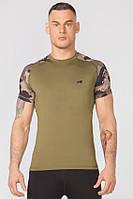 Компрессионная спортивная футболка Rough Radical Furious II SS (original), мужской рашгард с коротким рукавом, фото 1