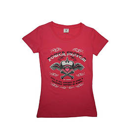 Футболка для фитнеса и бодибилдинга женская Heart Breaker PS-8005 Pink L SKL24-190327